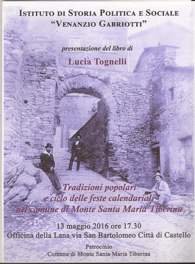 Le tradizioni popolari relative al ciclo delle feste calendariali e dei grandi lavori agricoli nel comune di Monte Santa Maria Tiberina